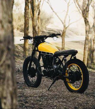 Cafe Racer Yamaha sr250