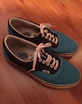 Vans verdaderas azules talla 38