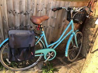 Vintage bicycle + accessories