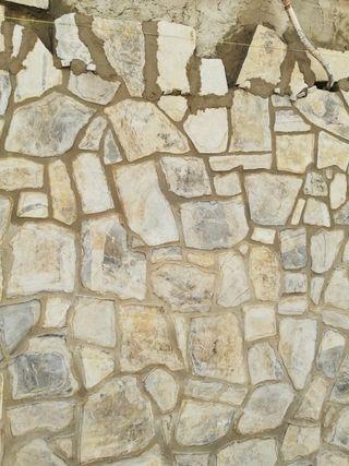 colocación de piedras