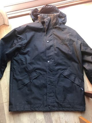 Chaqueta Montblanc negra talla XL