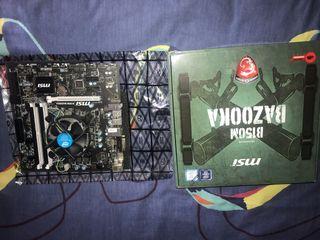 Placa base y procesador gaming