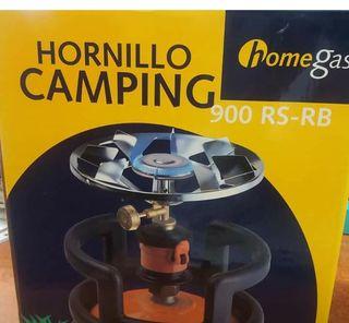 Hornillo portátil y camping