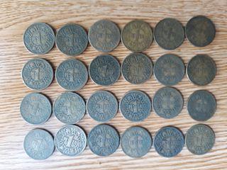 monedas 1 peseta 1944