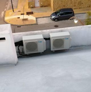 Aire acondicionado y calor Daikin completo perf