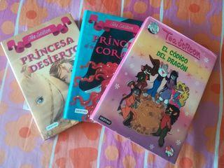 Tea Stilton: lote 3 libros