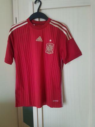 Camiseta de la Selección Española Mundial 2014