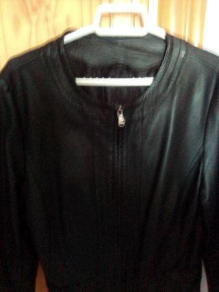 chaqueta imitación piel talla m