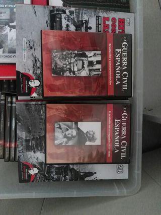 Colección dvds Guerra Civil Española