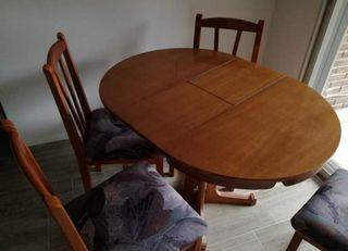 Mesa de comedor o salón EXTENSIBLE