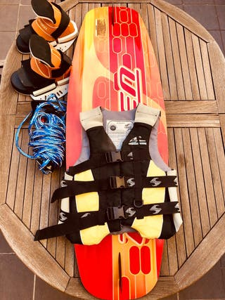 Wakeboard equipo completo