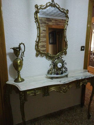 recibidor bronce