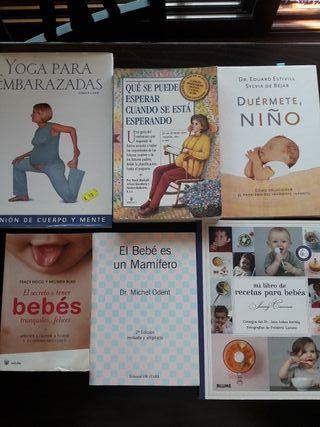 Lote de 6 libros para embarazadas/ bebés