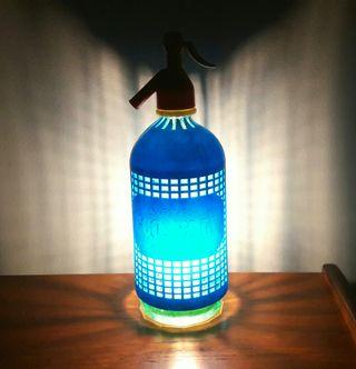 lámpara sifon vintage luz ambiente