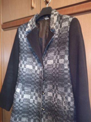 abrigo negro talla 40_42_44