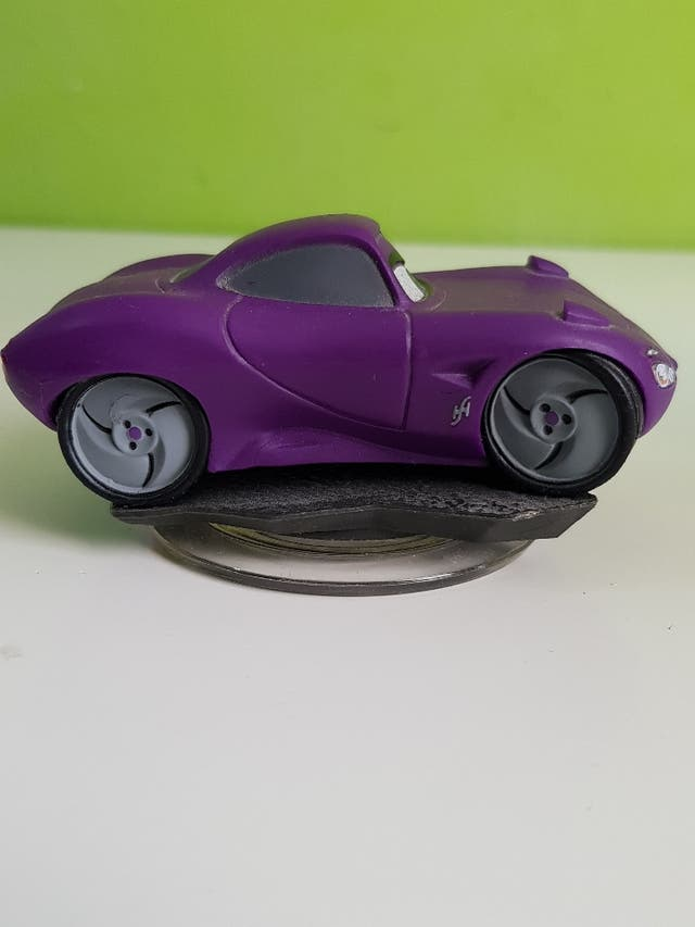 cars disney infinity holley figura rayo