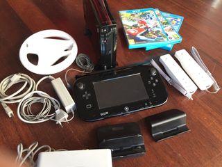 Nintendo Wii U 32Gb con Mario Kart 8, Mario Party
