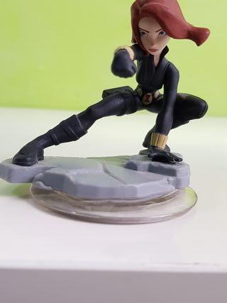 viuda negra disney infinity figura marvel