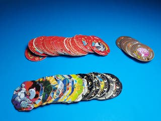 tazos dragon ball sueltos