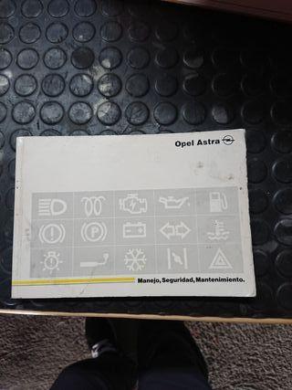 manual Astra F