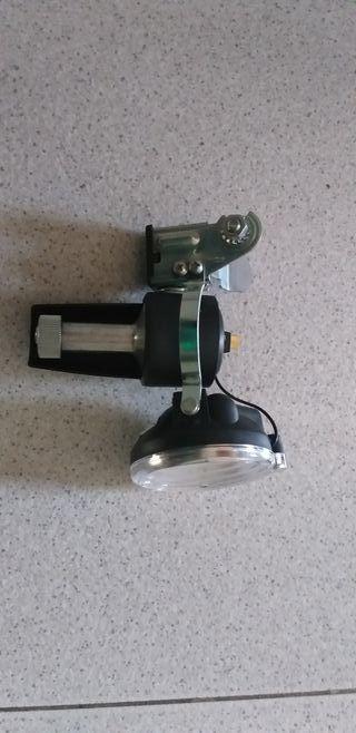 kit lámpara y dinamo