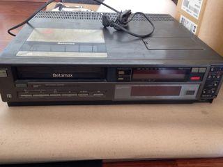 Sony Betamax con mando a distancia