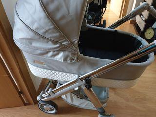 Carro con cuco, maxicosi y silla a juego bebecar
