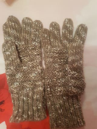 guantes de desigual talla S