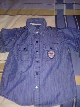camisa vaquera niño