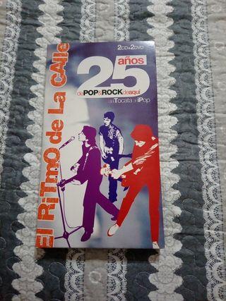 EL RITMO DE LA CALLE 25AÑOS POP&ROCK DE AQUI