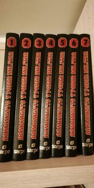 Colección de libros Armamento y poder militar