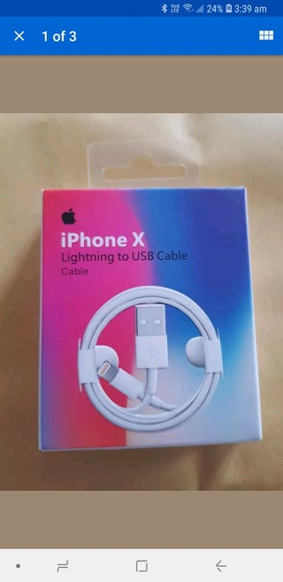 iPhone cable 7 8 8plus x10