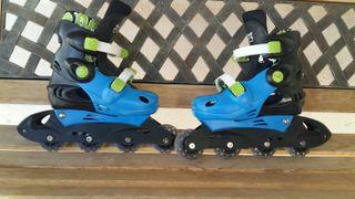 patines en línea 4 ruedas