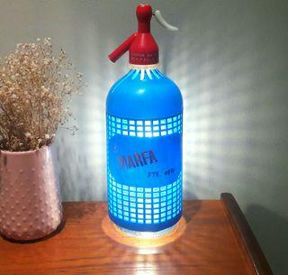 lámpara sifon vintage Marfa