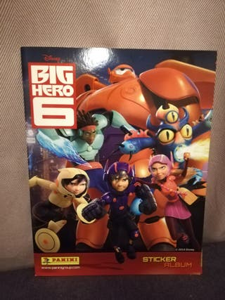 Album Cromos Big Hero 6 casi completo