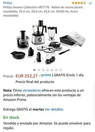 Robot cocina PHILIPS AVANCE HR7778/00