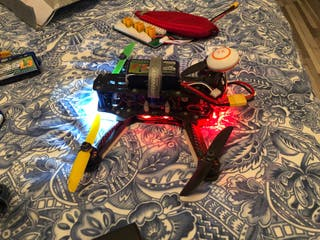 Dron Carreras 250 + Taranis X9D Plus +FPV+ Extras