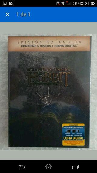 El Hobbit Batalla 5 Dvd Coleccionista Nuevo