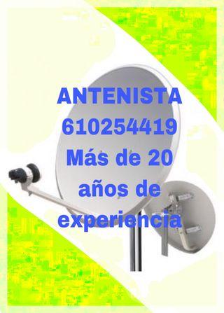Antenista 610254419 Tv TDT Satélite