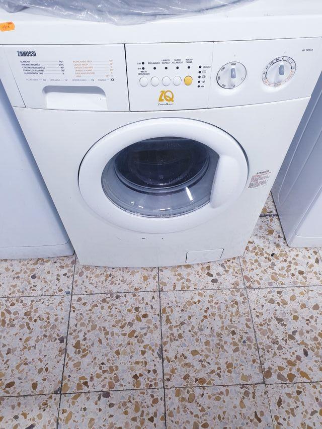lavadoras zanussi 6kg 100€ garantía
