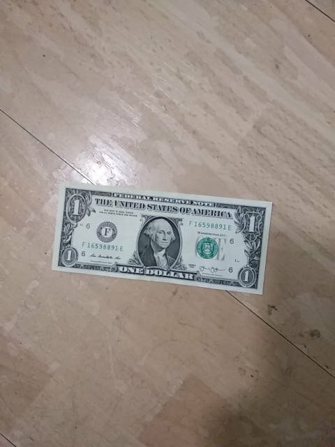 Billete de Dolar Americano