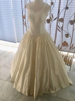 vestido de novia talla 40 de segunda mano en granada en wallapop