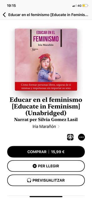 """Libro """"Educar en el feminismo"""""""