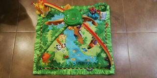 Gimnasio manta para bebé de la selva