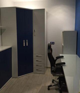 armario y escritorio