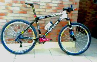 bicicleta de competición sin uso.