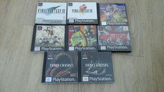 8 juegos Psx Ps1 Playstation