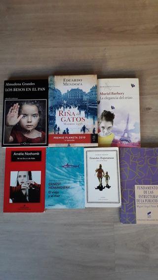 Set de novelas en castellano
