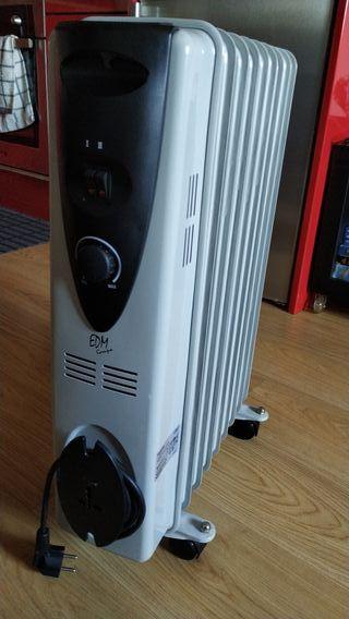 radiador calefactor de aceite