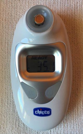 Termómetro digital a distancia o infrarojos
